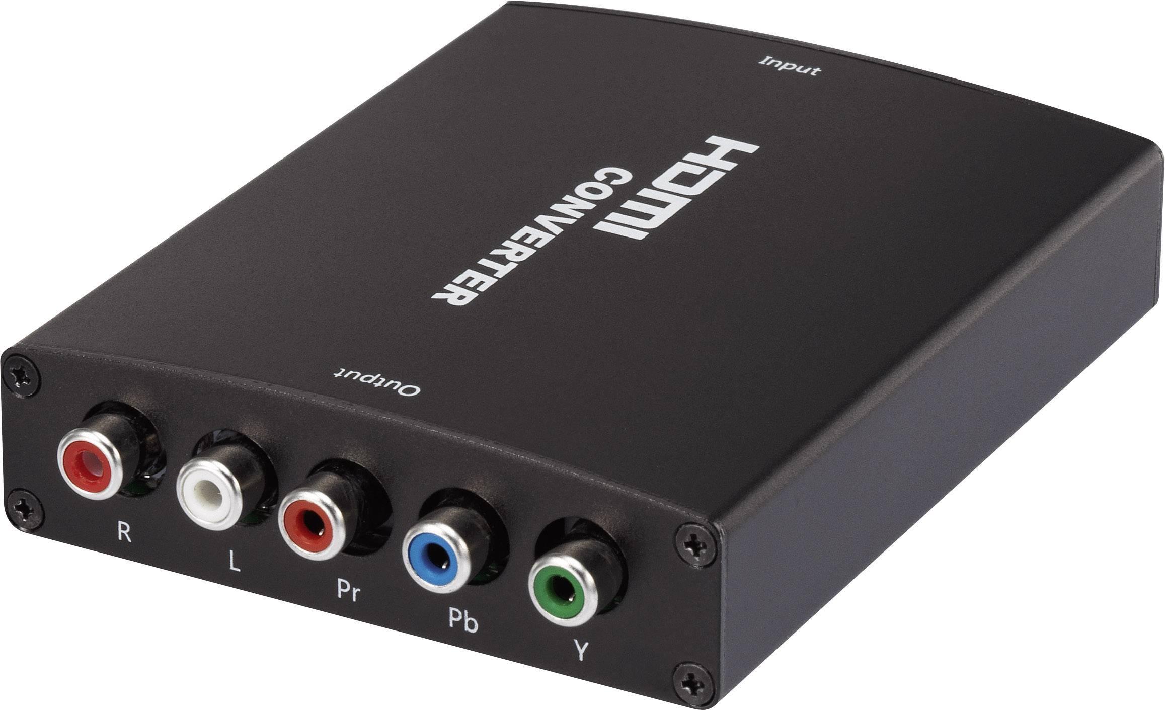 HDMI převodník na AV komponentní video SpeaKa