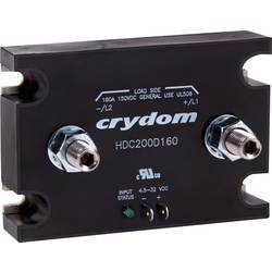 Jednosmerný stýkač Crydom HDC200D160 HDC200D160, 160 A, 1 ks