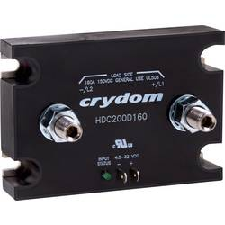 Stejnosměrný stykač Crydom HDC100D160 HDC100D160, 160 A, 1 ks