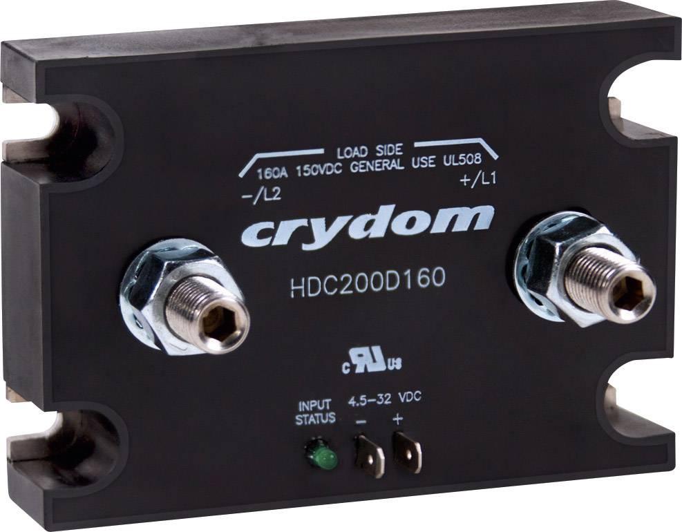 Stejnosměrný stykač Crydom HDC200D160 HDC200D160, 160 A, 1 ks