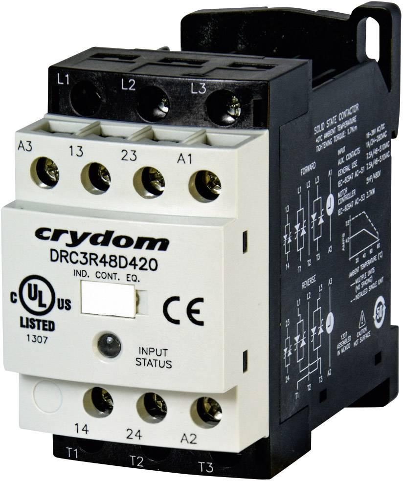 Reverzní stykač Crydom DRC3R48D420 DRC3R48D420, 24 V/DC, 24 V/AC, 7.6 A, 1 ks