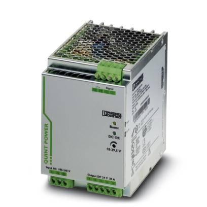 Síťový zdroj na DIN lištu Phoenix Contact QUINT-PS/ 1AC/24DC/20/CO, 1 x, 24 V/DC, 20 A, 480 W