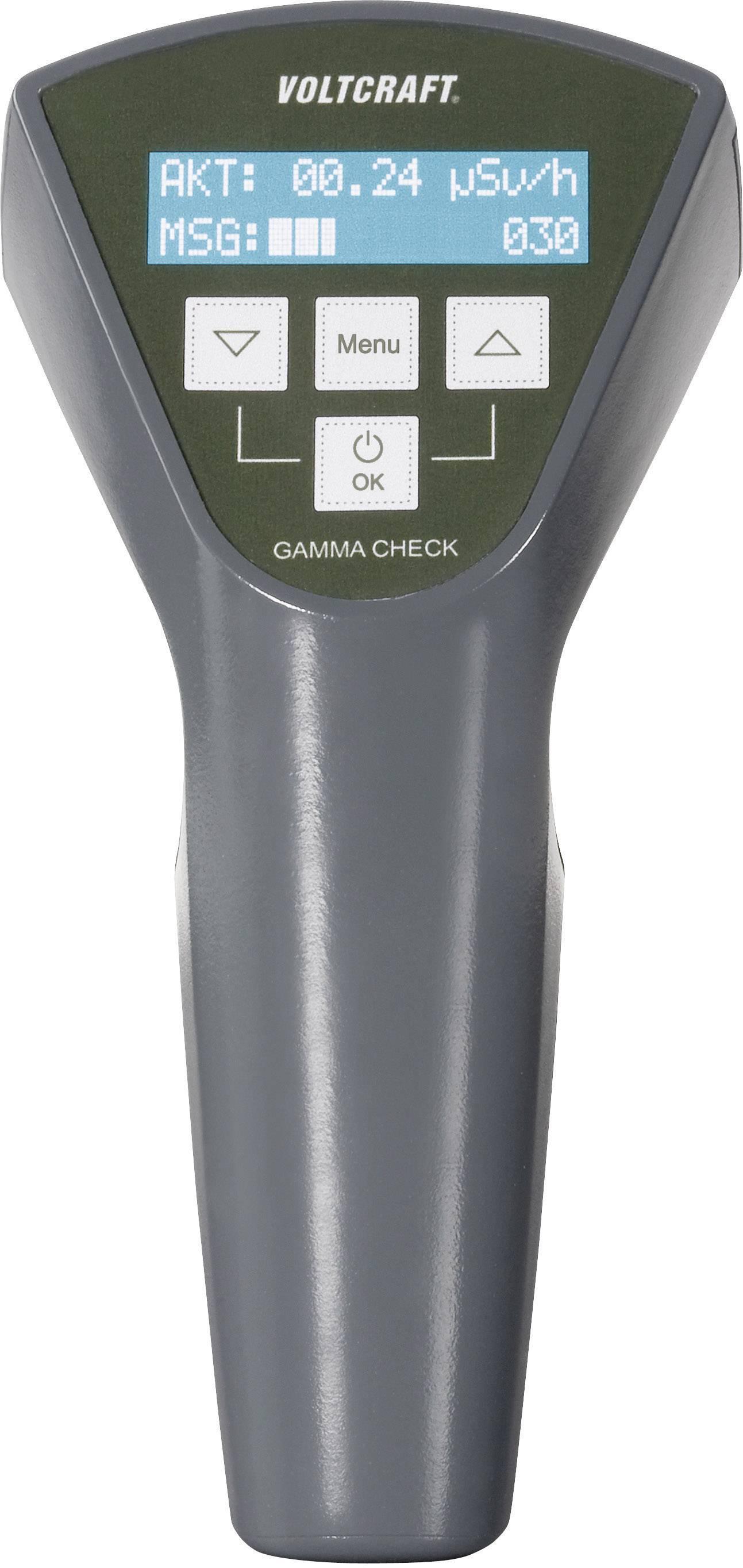 Geigerův čítač pro kontrolu radioaktivity Voltcraft Gamma-Check-A