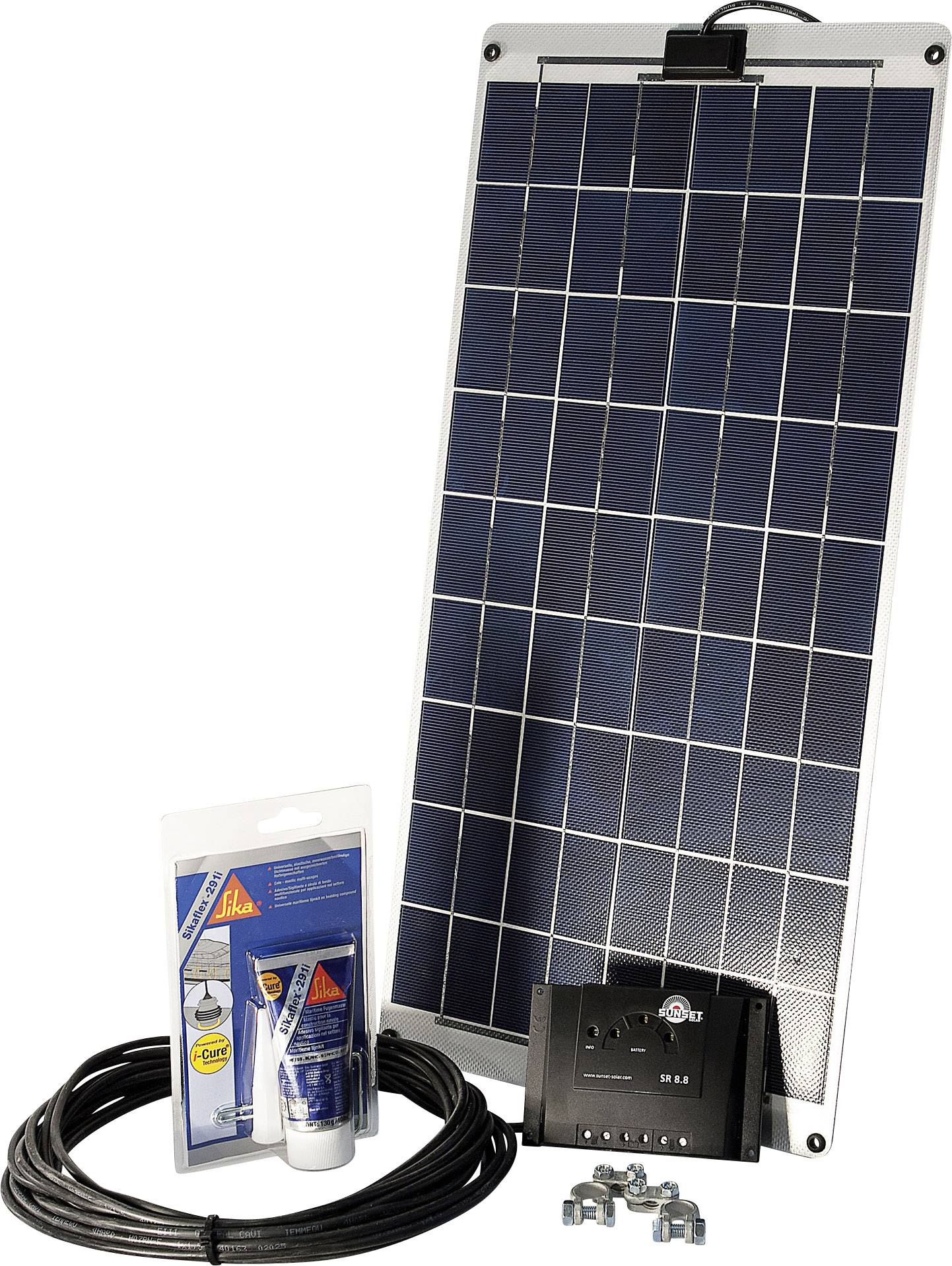 Solárna sada Sunset SM 30L 110262, 30 Wp, vr. nabíjacieho regulátora, vr. kábla