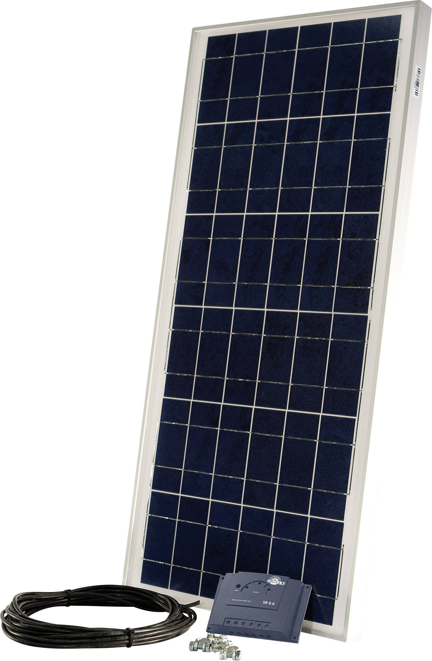 Solárna sada Sunset PX 55 110270, 55 Wp, vr. kábla, vr. nabíjacieho regulátora