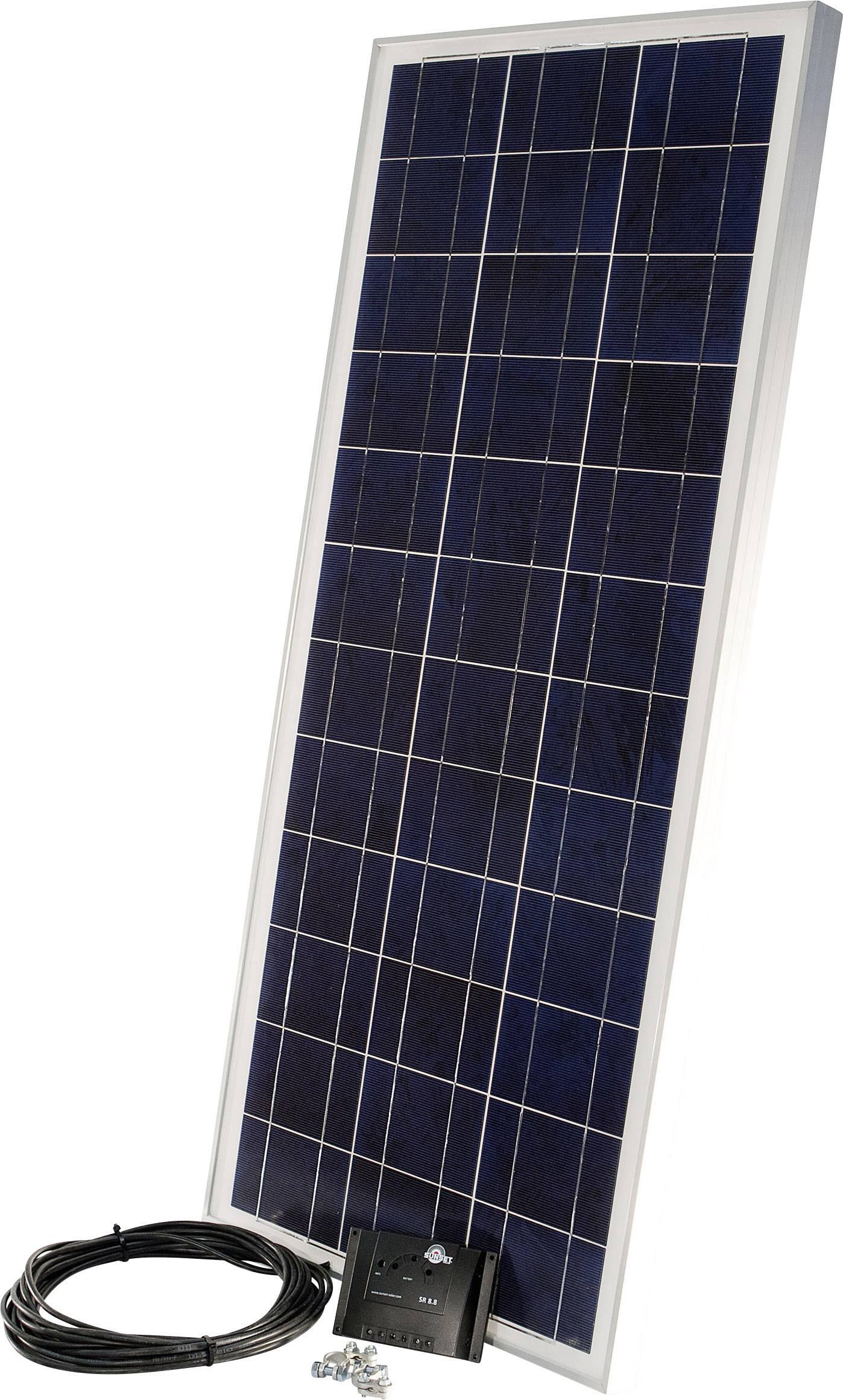 Solárna sada Sunset PX 85 110273, 85 Wp, vr. kábla, vr. nabíjacieho regulátora