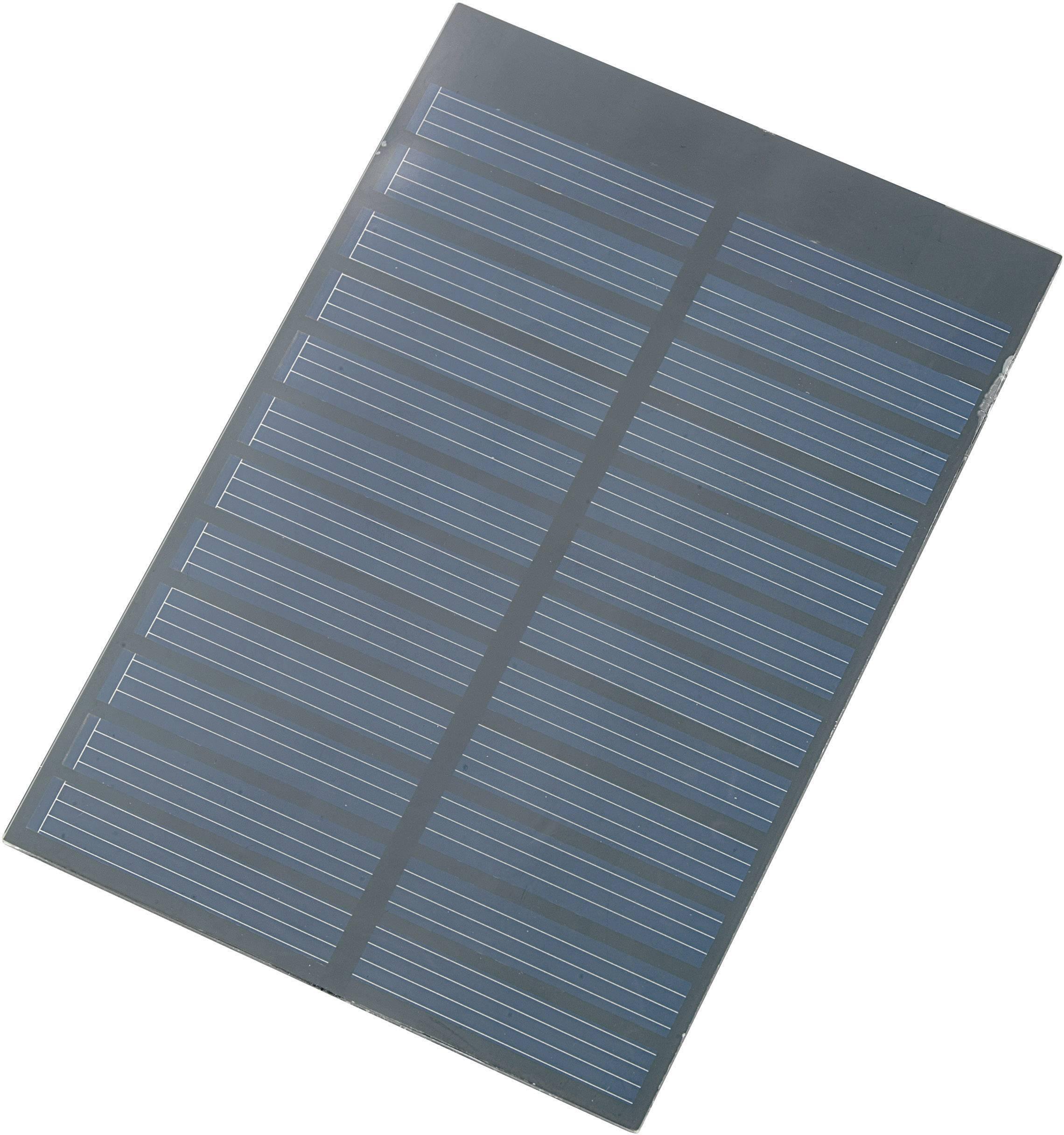 Polykryštalický solárny panel 150 mA, 0.9 Wp, 6 V