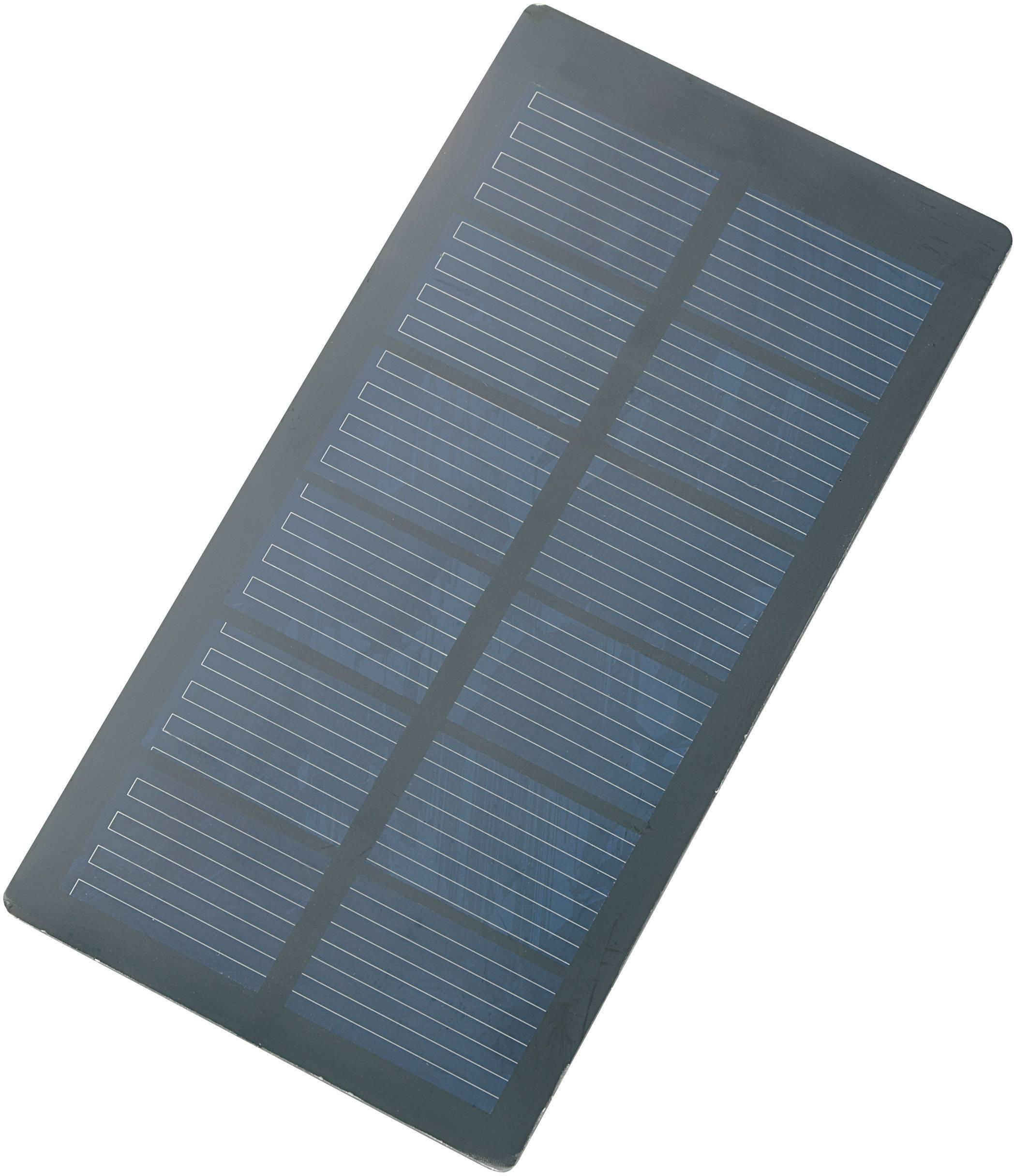 Polykrystalický solární panel 250 mA, 0.75 Wp, 3 V