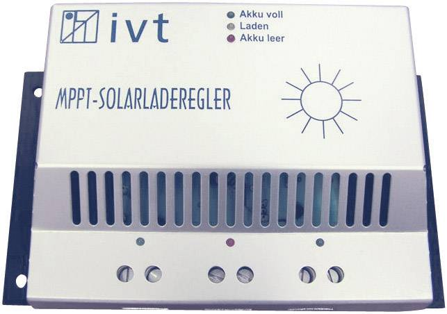 Solární regulátor nabíjení IVT MPPT 18317, 10 A, 12 V, 24 V