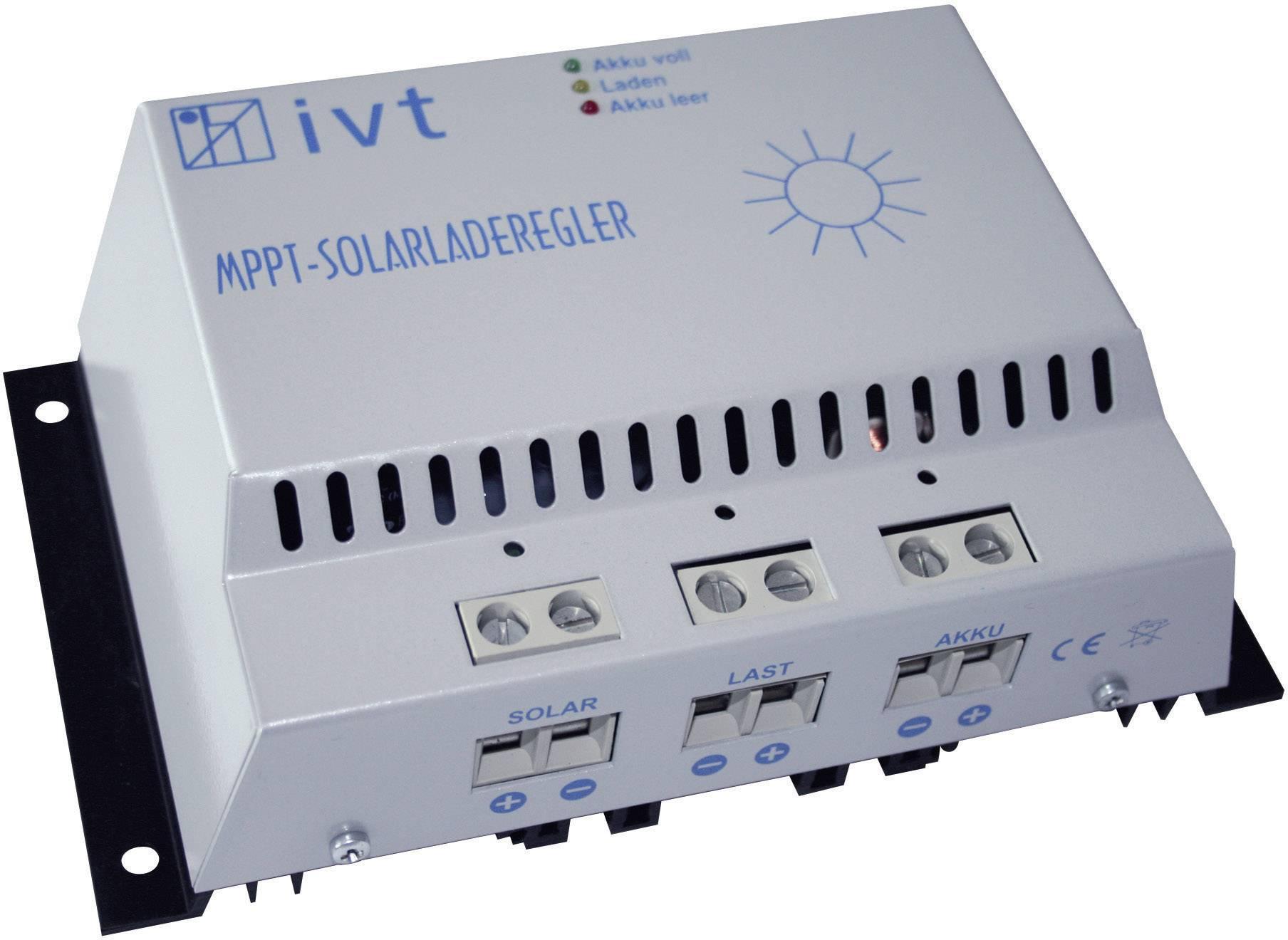 Solárny regulátor nabíjania IVT MPPT 18319, 30 A, 12 V, 24 V