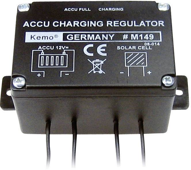 Solárny regulátor nabíjania Kemo Charging Controller M149 M149, 6 A, 12 V