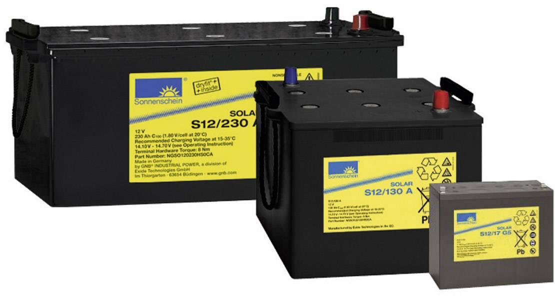 Solární akumulátor 12 V 130 Ah GNB Sonnenschein S12/130 A 081 9875000