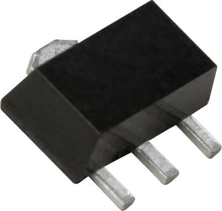 NPN Darlington tranzistor (BJT) Nexperia BST52,115, SOT-89-3 , Kanálů 1, 80 V