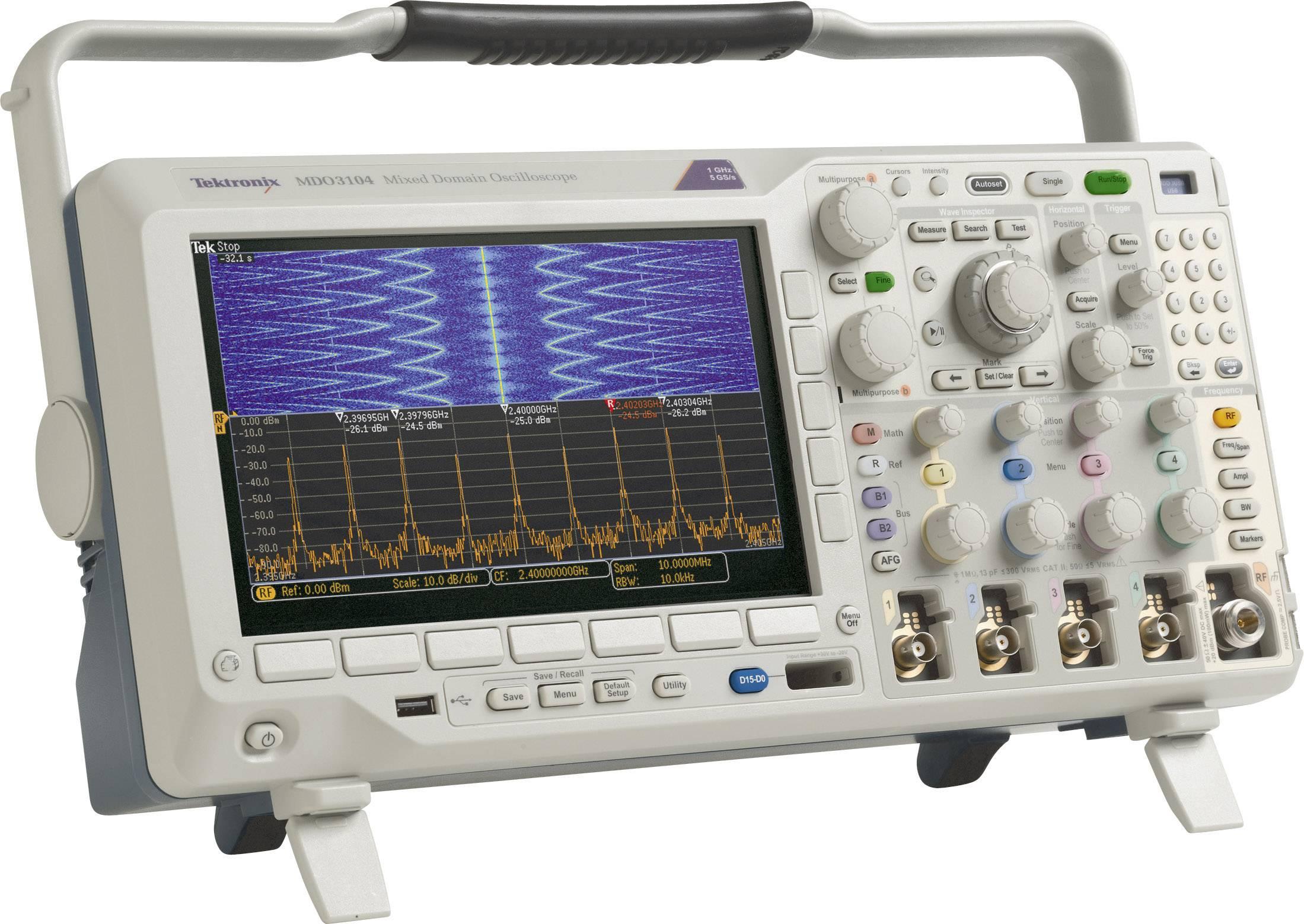 Digitální osciloskop Tektronix MDO3024, 200 MHz, 4kanálová