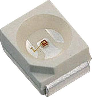 SMD LED LUMEX SML-LX2832SIC-TR, 2 V, 20 mA, 120 °, 250 mcd, červená