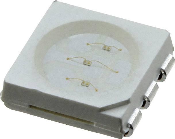 SMD LED LUMEX SML-LX5050SOC-TR, 2.3 V, 50 mA, 120 °, 1650 mcd, oranžová