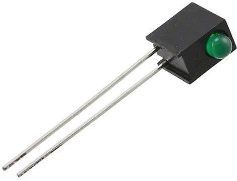 LEDmodul Everlight Opto MV5464MP4B (d x š x v) 30.9 x 3.15 x 3.15 mm, zelená