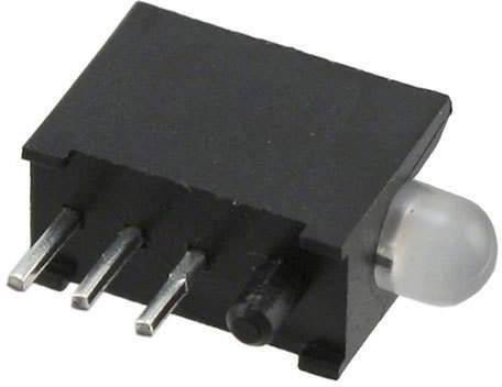 LED modul Dialight, (d x š x v) 12.35 x 8.9 x 4.83 mm, zelená, červená