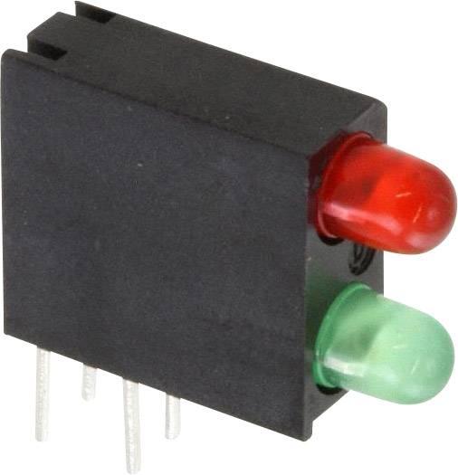 LED modul Dialight, (d x š x v) 14.06 x 13.33 x 4.32 mm, zelená, červená