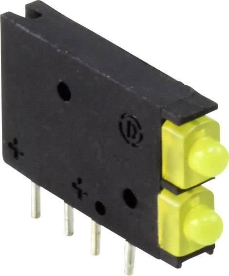 LED modul Dialight, (d x š x v) 15.45 x 11.61 x 2.5 mm, žlutá