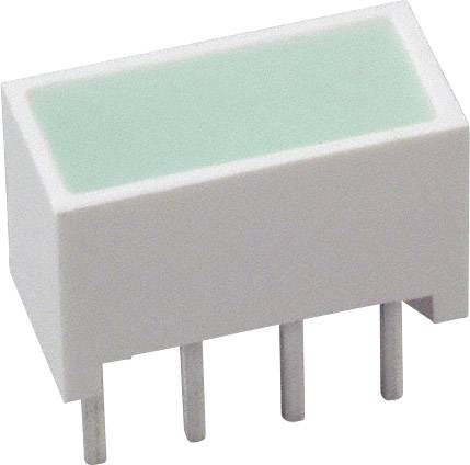LED modul Broadcom HLMP-2500 (d x š x v) 10.28 x 10.16 x 4.95 mm, zelená