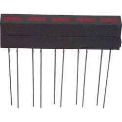LED modul LUMEX, (d x š x v) 35.5 x 33.4 x 6.1 mm, červená