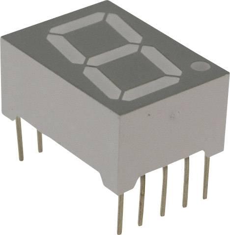 7-segmentový displej Lite-On LTS-5503AB, číslic 1, 14.22 mm, 3.8 V, modrá