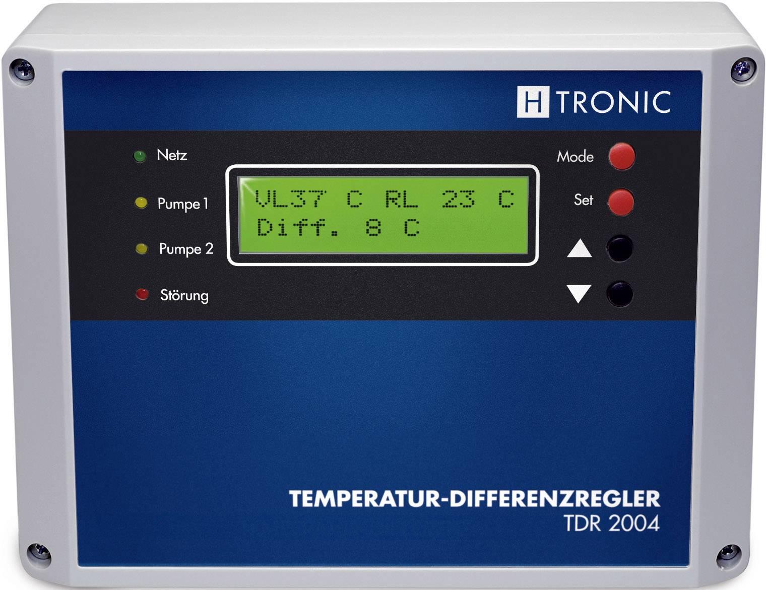 Rozdílový regulátor teploty H-Tronic 110990, s čítačem