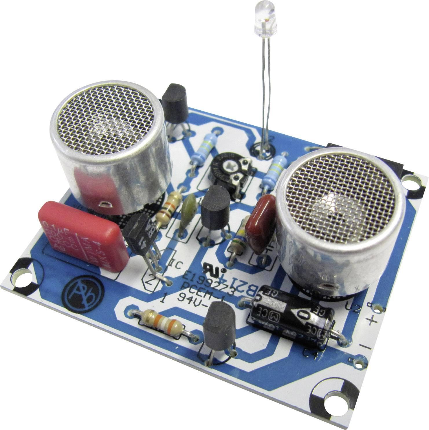 Ultrazvukový měřič vzdálenosti Kemo Electronic, B214, 9 - 12 V/DC, dosah 10 - 80 cm