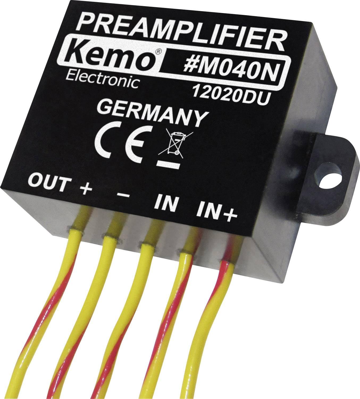 Univerzální modul předzesilovače Kemo M040N, 9 - 24 V/DC (modul)