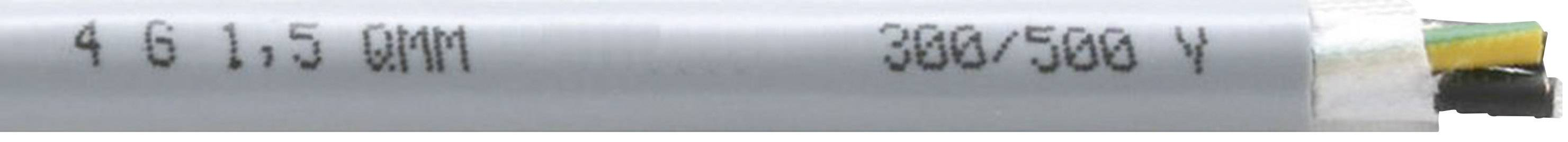 Tažný kabel Faber Kabel EFK 310 Y 310 UL/CSA-SCHLEPPLTG.PVC/PVC (035442), 3x 1 mm², PVC, Ø 7,2 mm, nestíněný,
