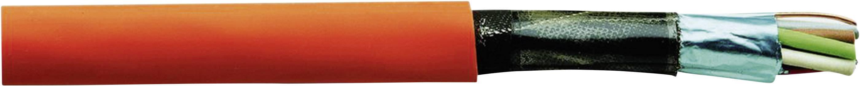 Kábel pre požiarne hlásiče JE-H(ST)H..E30 Faber Kabel JE-H(ST)H..E30 100427, 2 x 2 x 0.8 mm, červená, metrový tovar