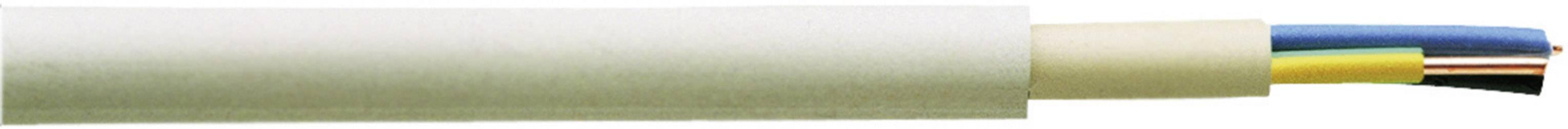 Opláštené vedenie Faber Kabel NYM-J 020002, 1 x 16 mm², metrový tovar, sivá
