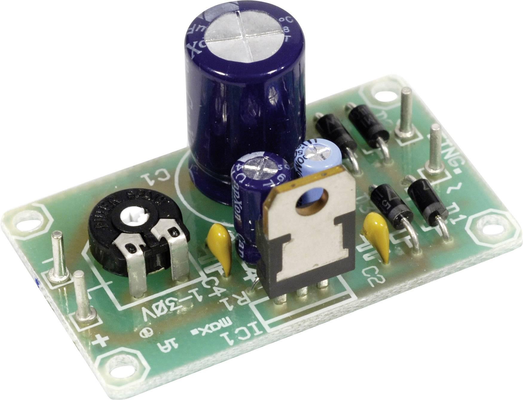 Modul napěťového regulátoru pro LM317-T, 1,2 - 32 V/DC, hotový výrobek