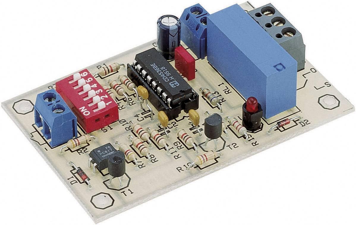 Časomerač stavebnica Conrad Components 115975 9 V/DC, 12 V/DC 0.0084 s - 19.5 h