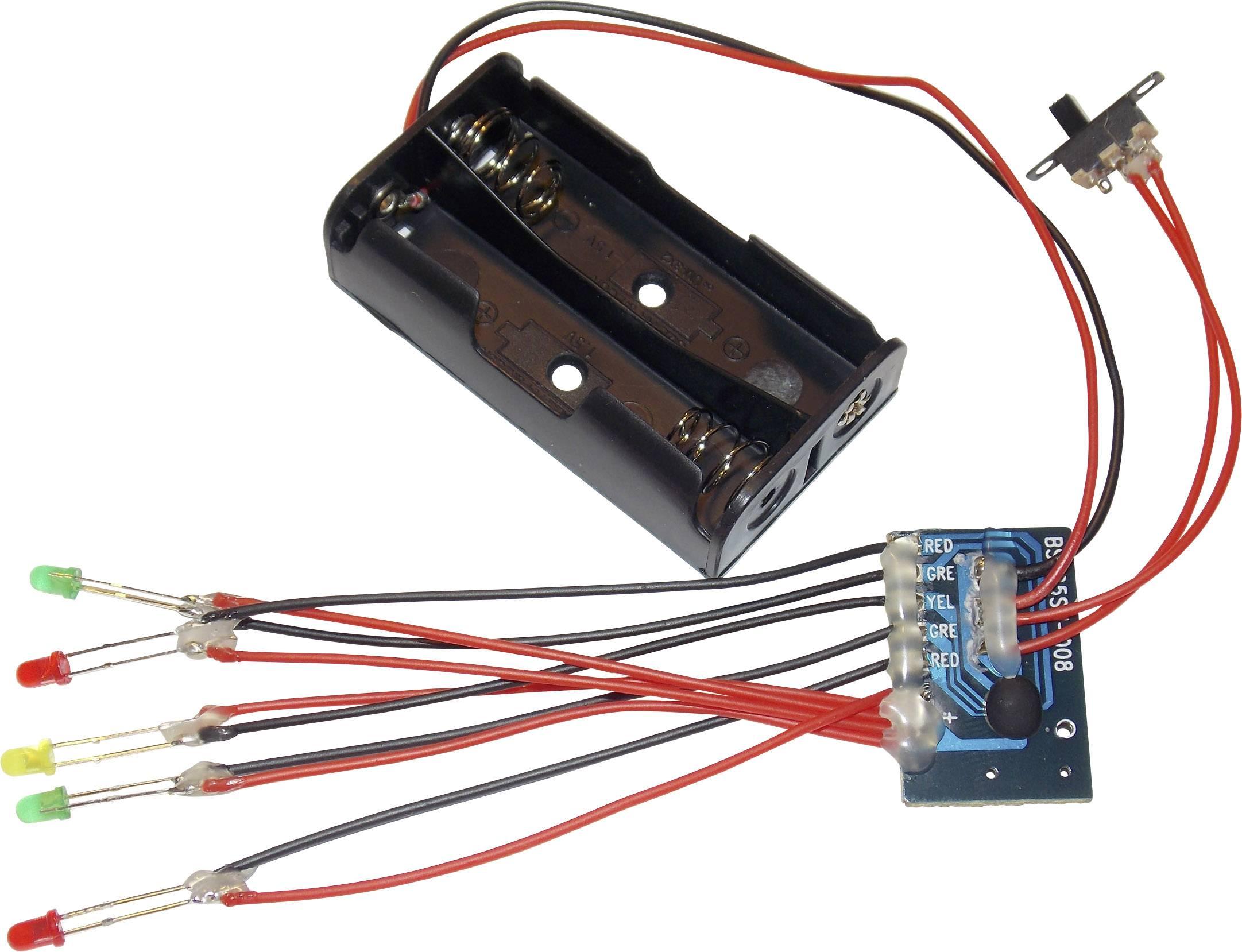 5kanálový modul běžícího LED světla Conrad BSH25SM-008, 3 V/DC