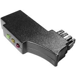 Kontrolní TAE konektor s LED černá Kash Množství: 1 ks
