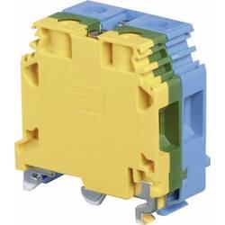 Blok hlavních svorek ABB 1SNA 165 683 R2200, 20 mm, šroubovací, osazení: Terre, N, zelená, žlutá, modrá, 1 ks