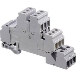 Poschodová inštalačné svorka ABB 1SNA 110 331 R2500, 17.8 mm, skrutkovací, osadenie L, sivá, 1 ks