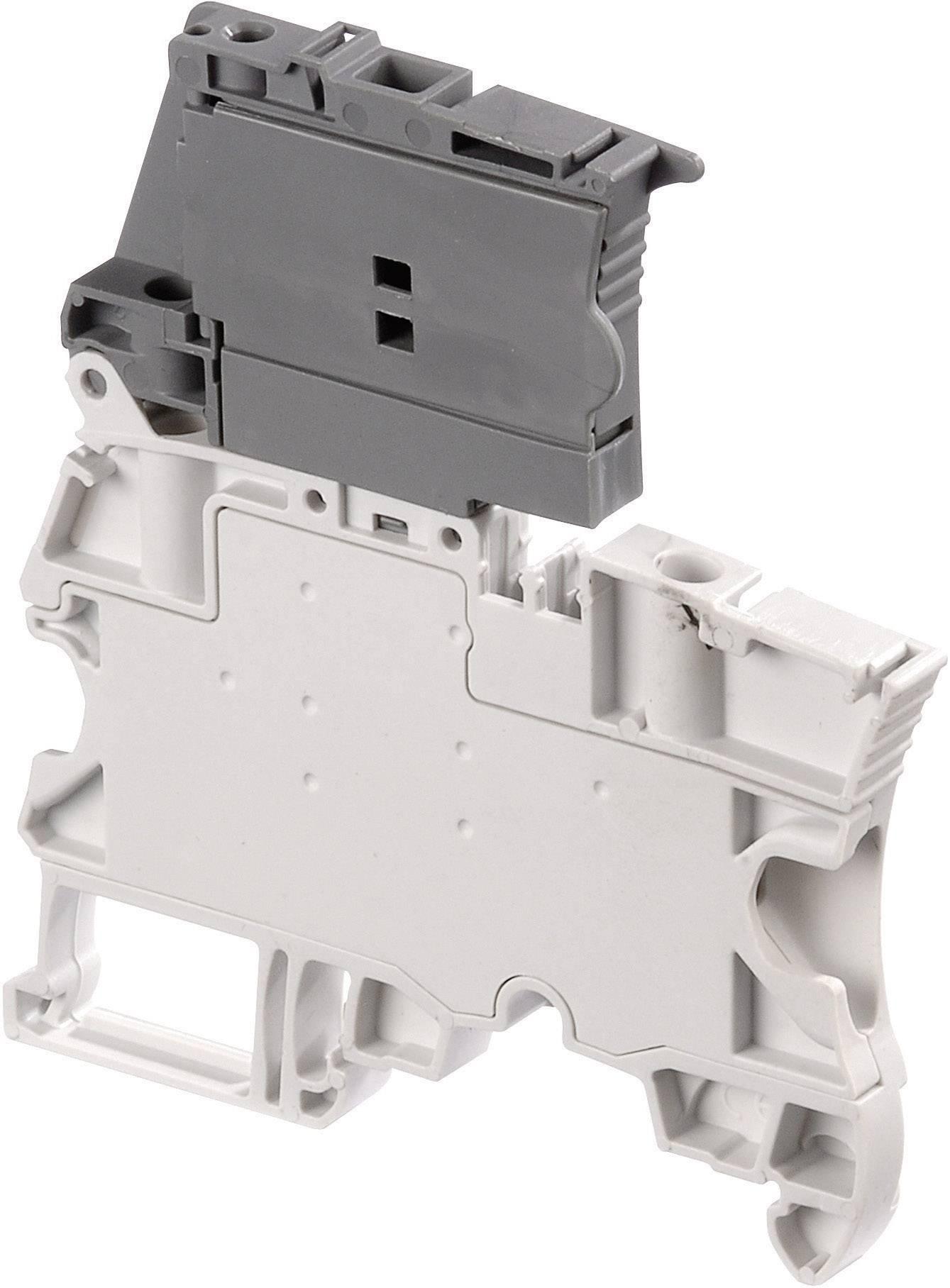Jistící svorka ABB 1SNK 506 410 R0000, 6 mm, šroubovací, osazení L, šedá, 1 ks
