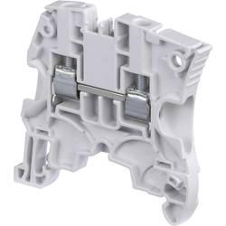 Priechodná svorka ABB 1SNK 505 065 R0000, 5.2 mm, skrutkovací, biela, 1 ks
