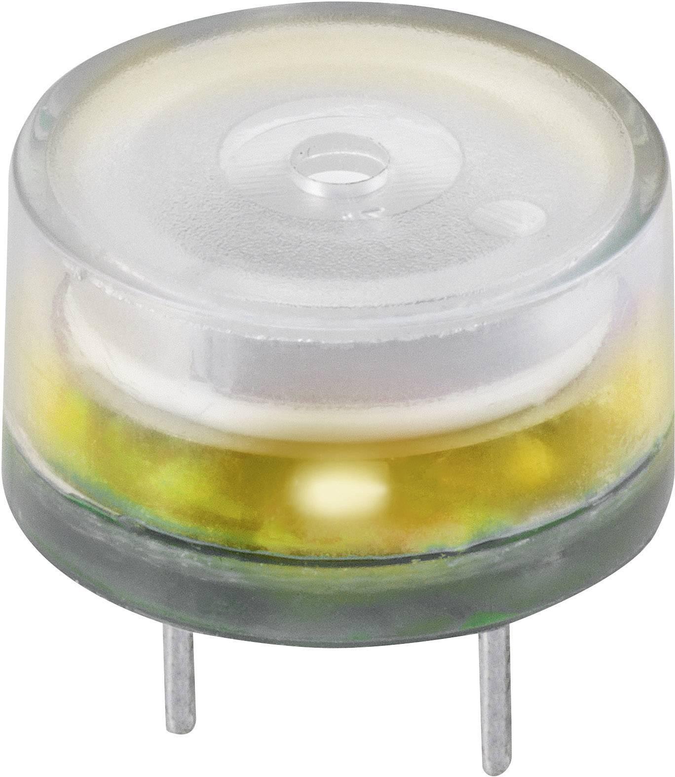 Piezo siréna 83 dB, 12 V/DC, žlutá