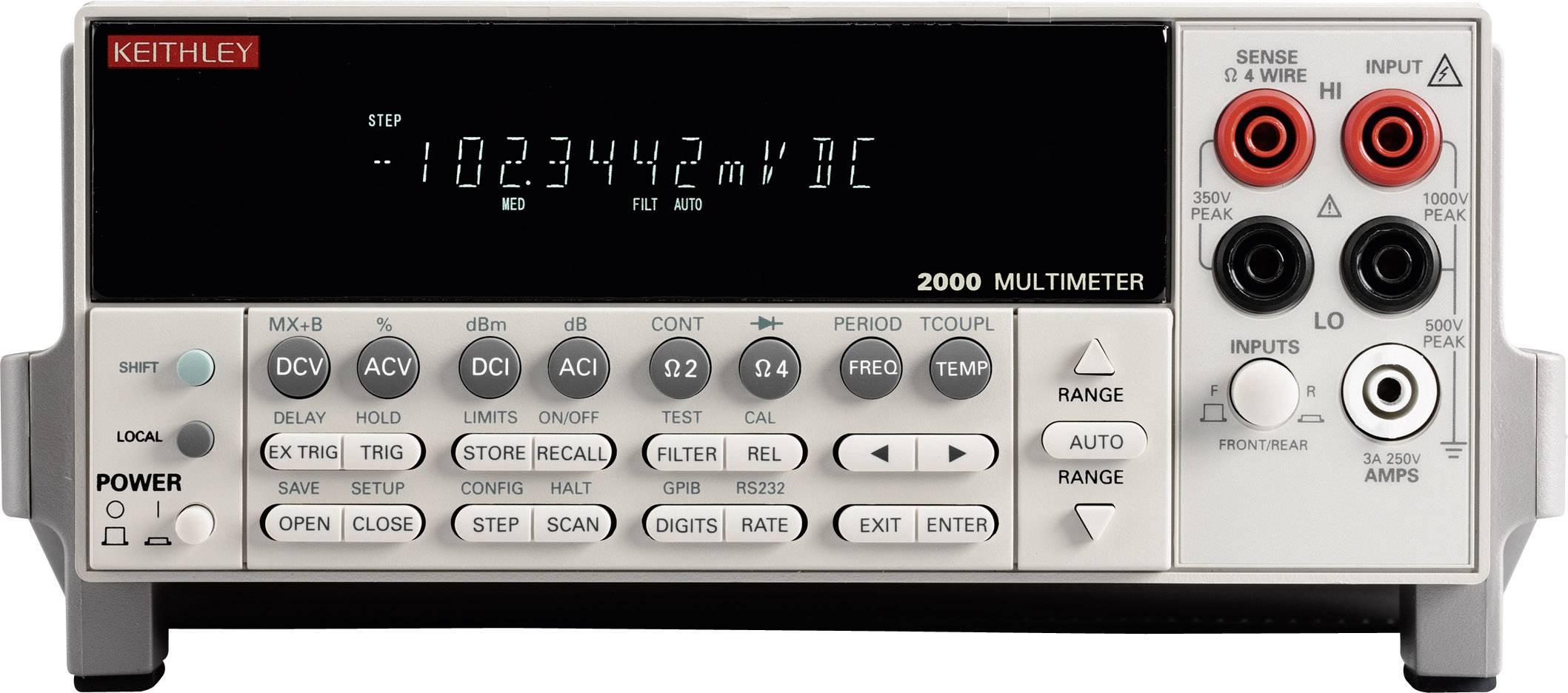 Stolní multimetr Keithley 2000E