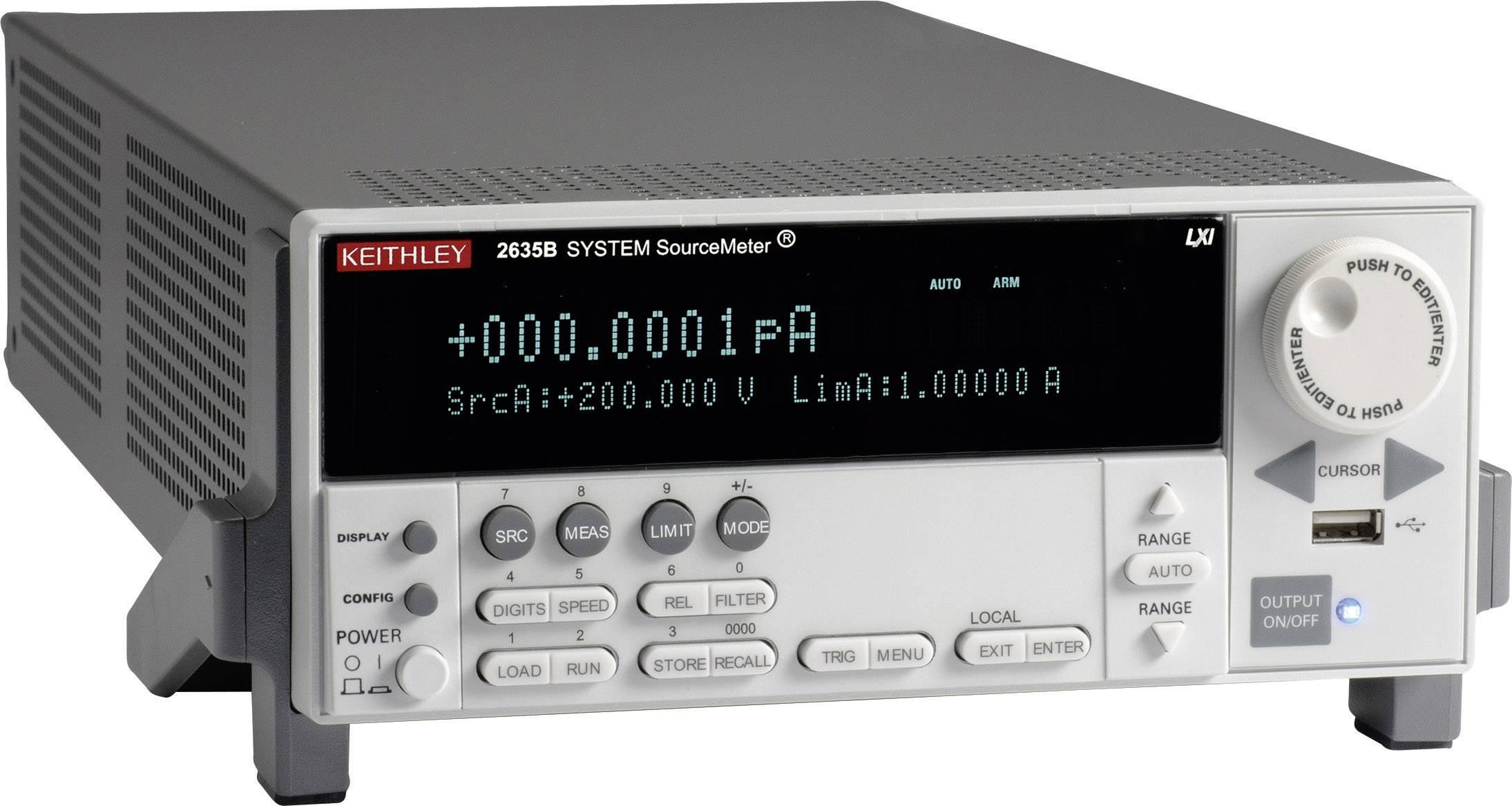 Laboratorní síťový zdroj Keithley 2635B, 30 W, 0-10 A, 1 výstup