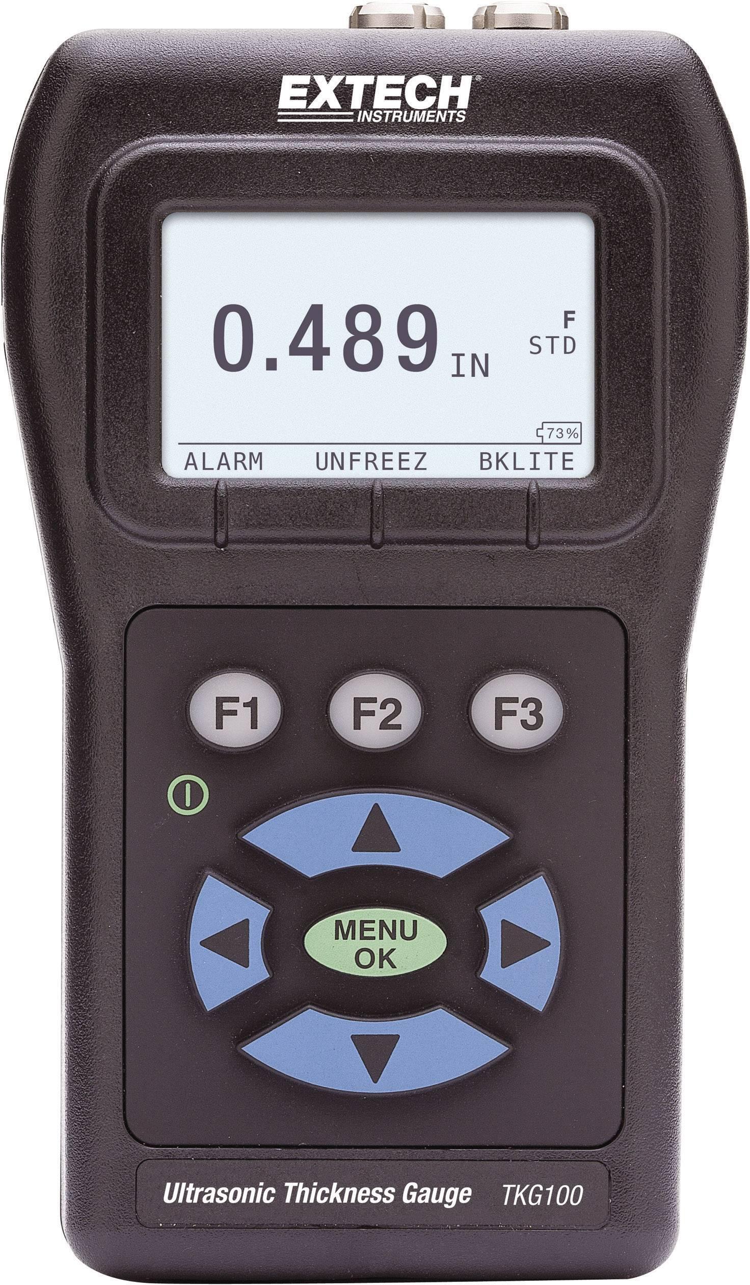 Ultrazvukový merač hrúbky materiálu Extech TKG100