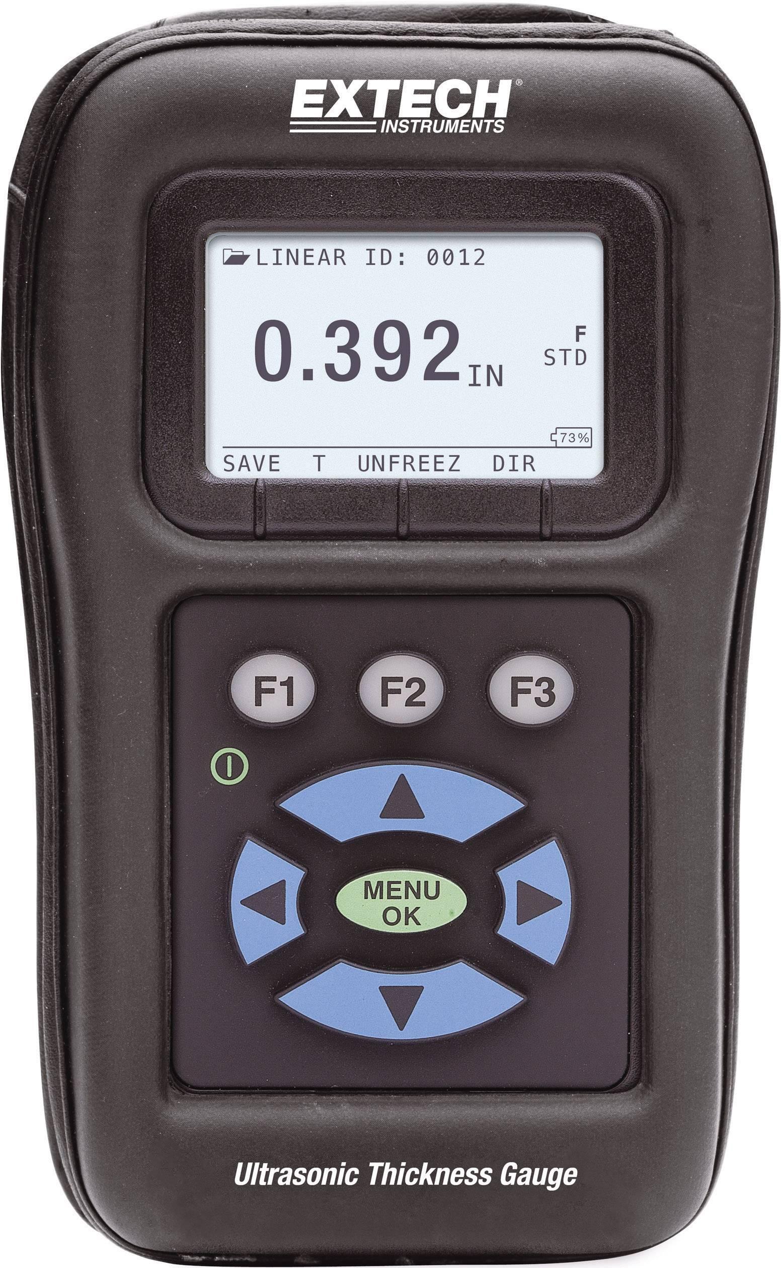 Ultrazvukový merač hrúbky materiálu Extech TKG150