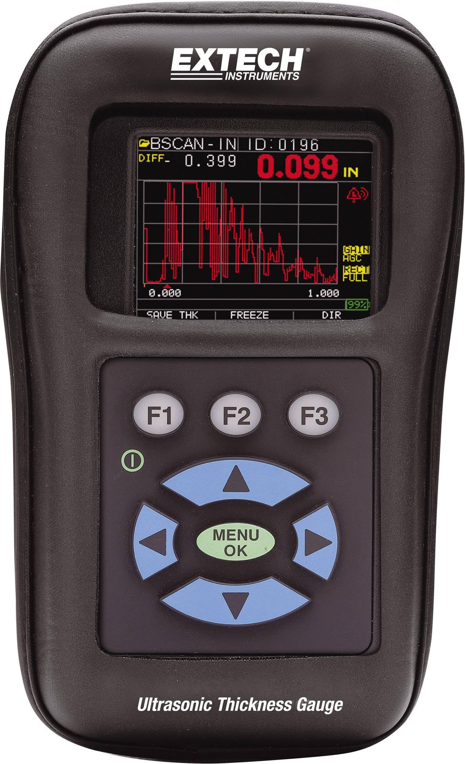 Ultrazvukový merač hrúbky materiálu Extech TKG250