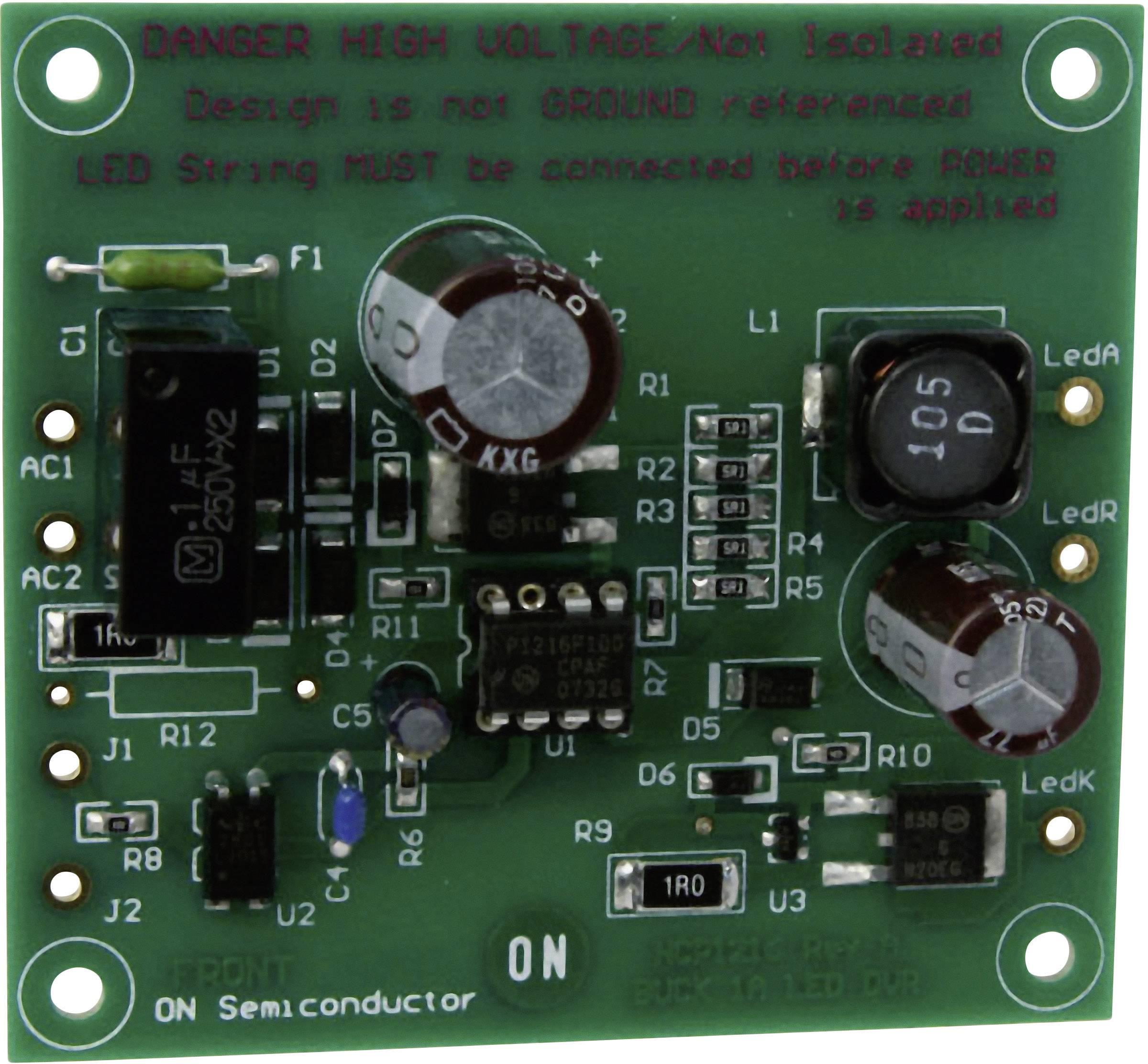 Vývojová deska ON Semiconductor NCP1216LEDGEVB