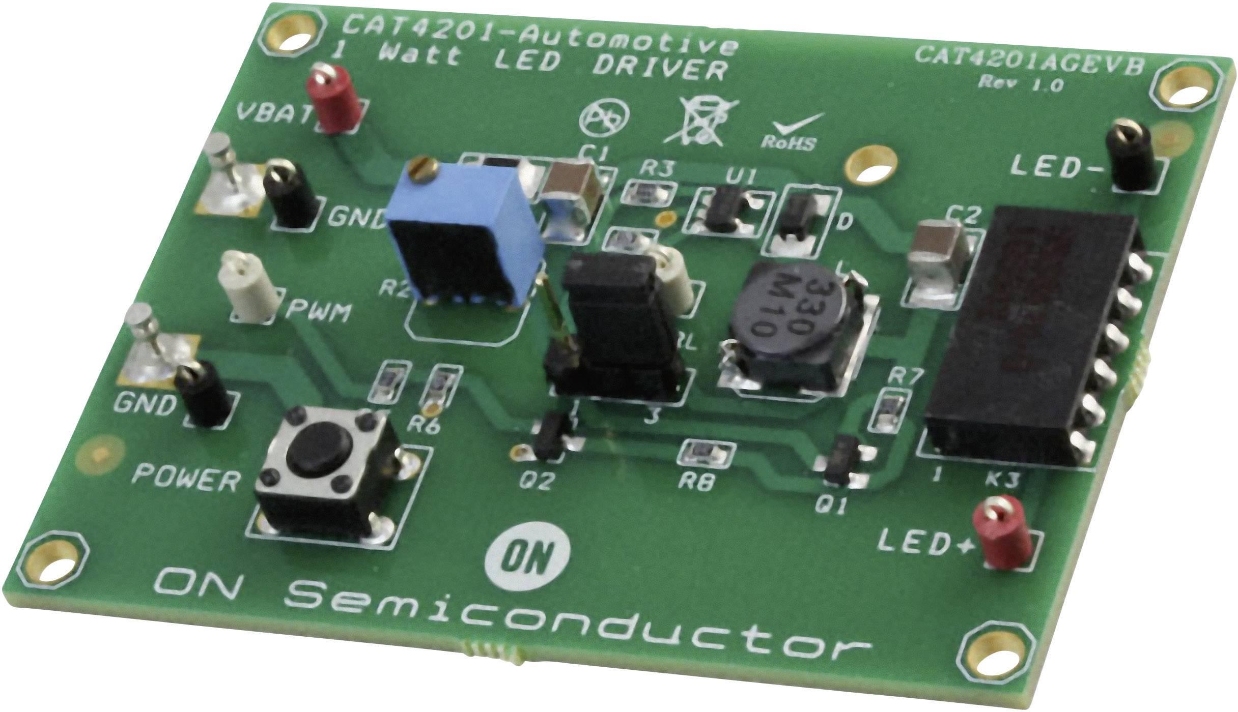 Vývojová deska ON Semiconductor CAT4201AGEVB