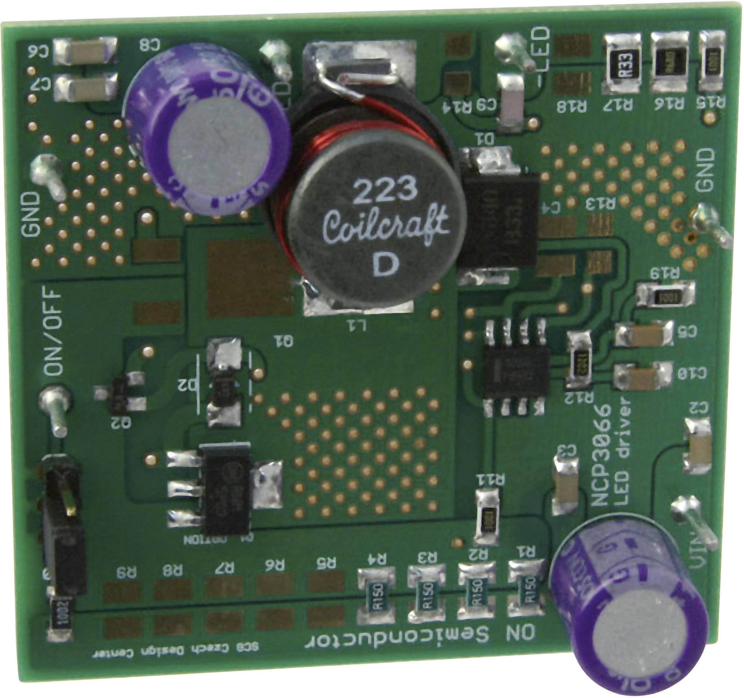 Vývojová deska ON Semiconductor NCP3066S3BCKGEVB